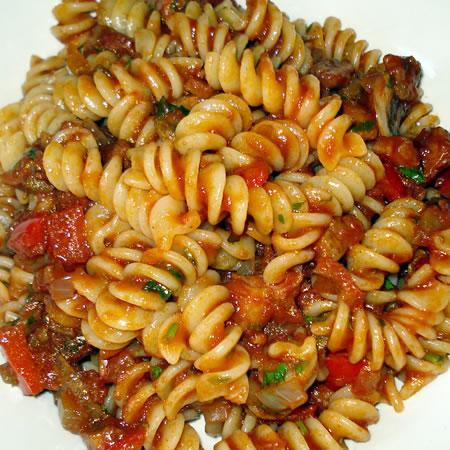 Pasta in Tomato Sauce