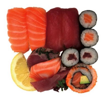Salmon and Tuna Box