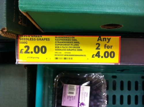 Another great offer from Tesco