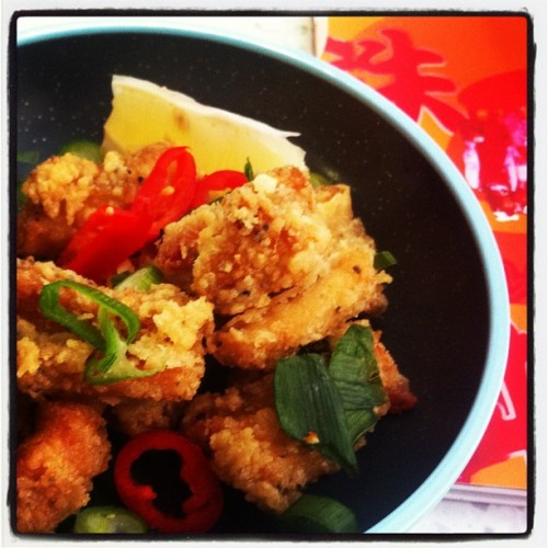 Spicy Pepper Squid