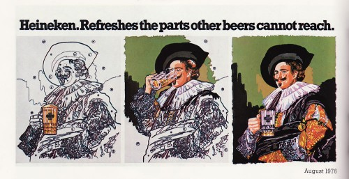Classic Heineken Advert from 1976