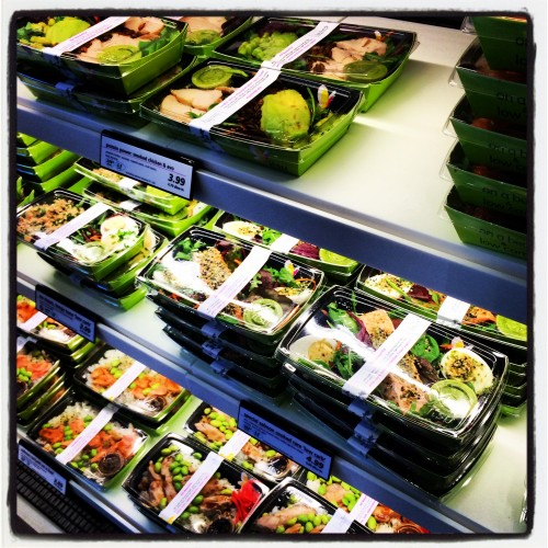 itsu salad boxes in Oxford