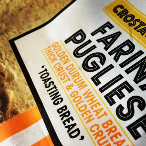 Farina Pugliese for breakfast