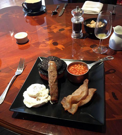 breakfast at The Walton
