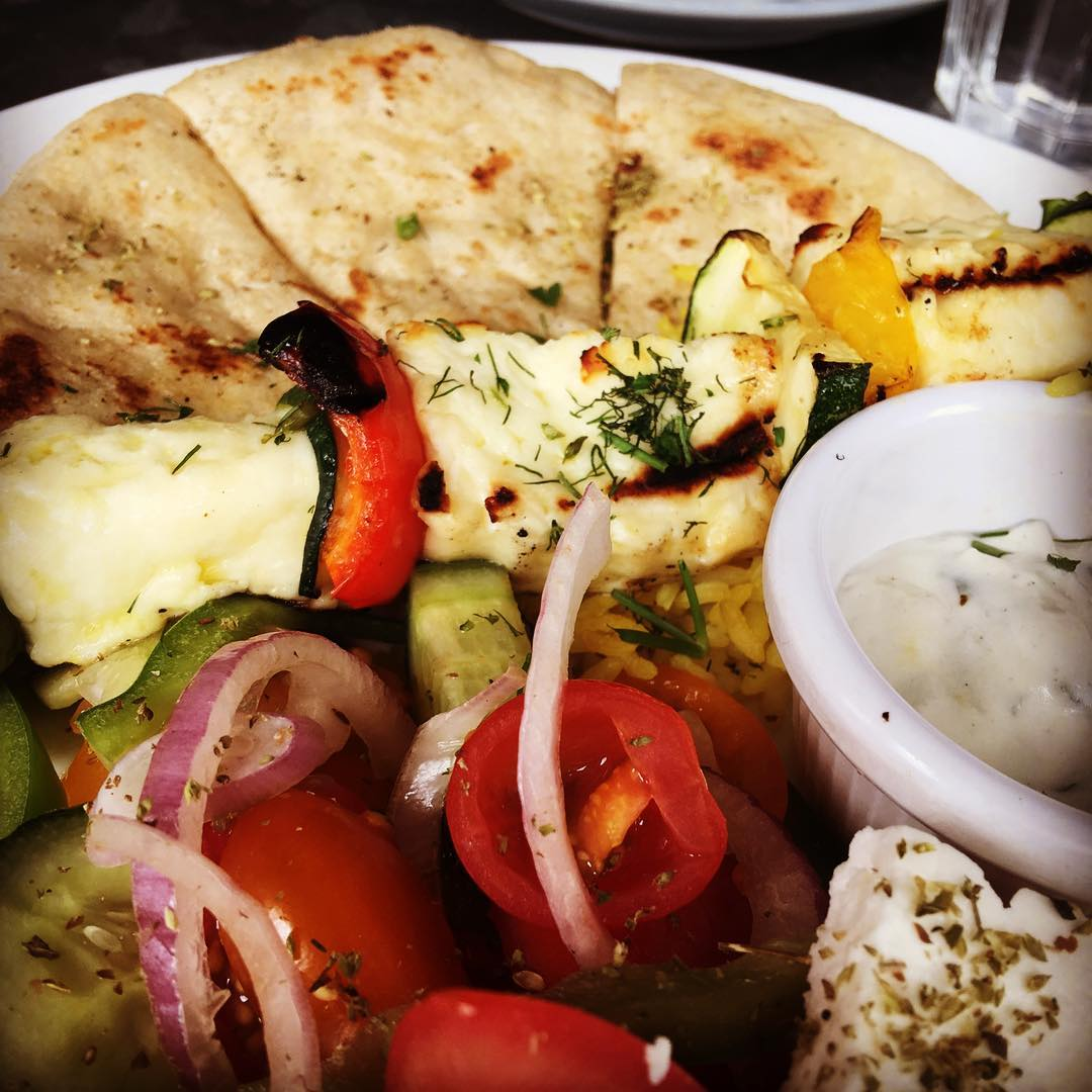 Halloumi Greek Plate