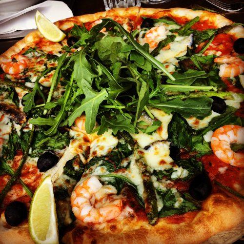 Gamberi Pizza