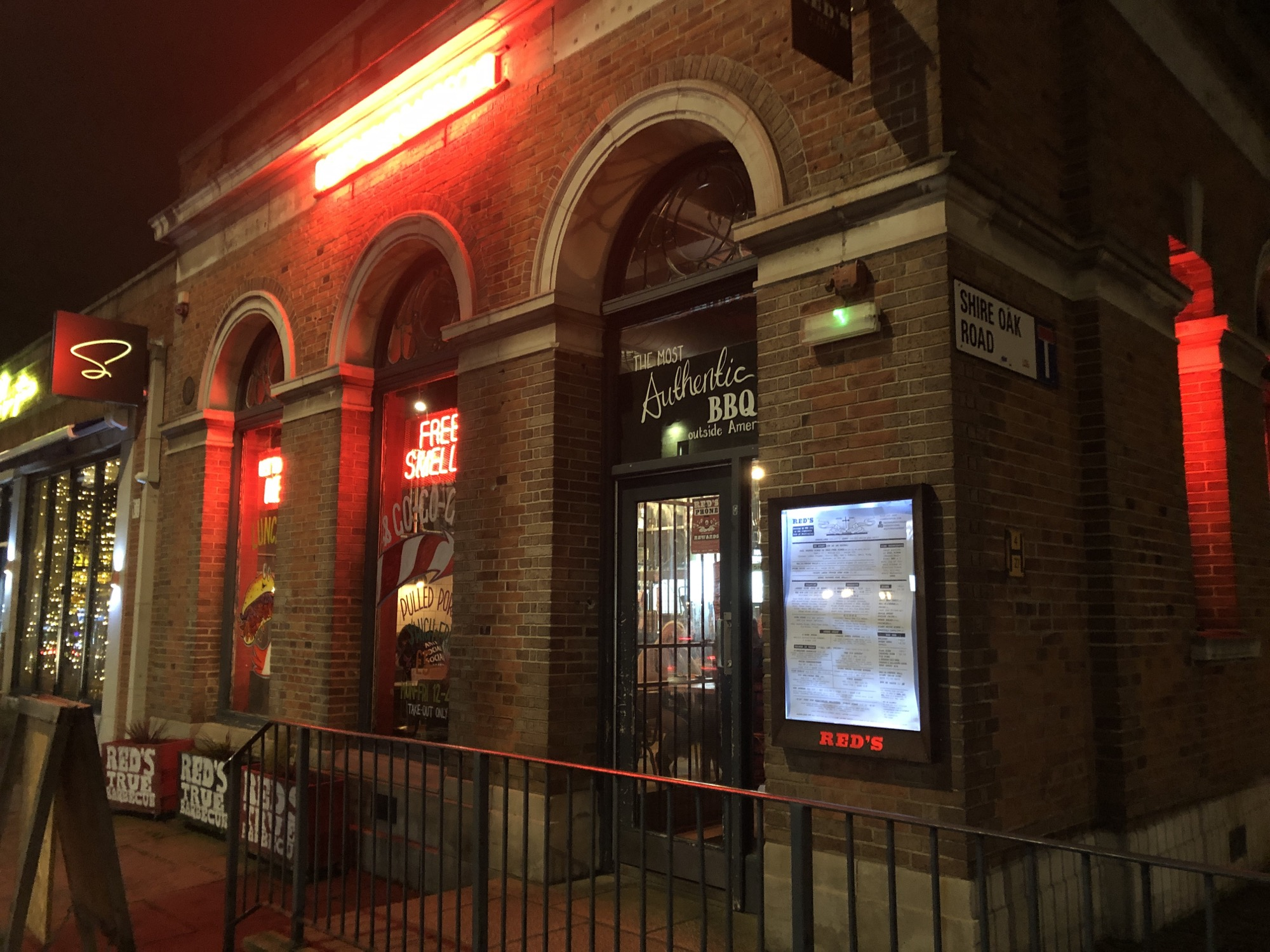 Reds True Barbecue in Headingly in Leeds