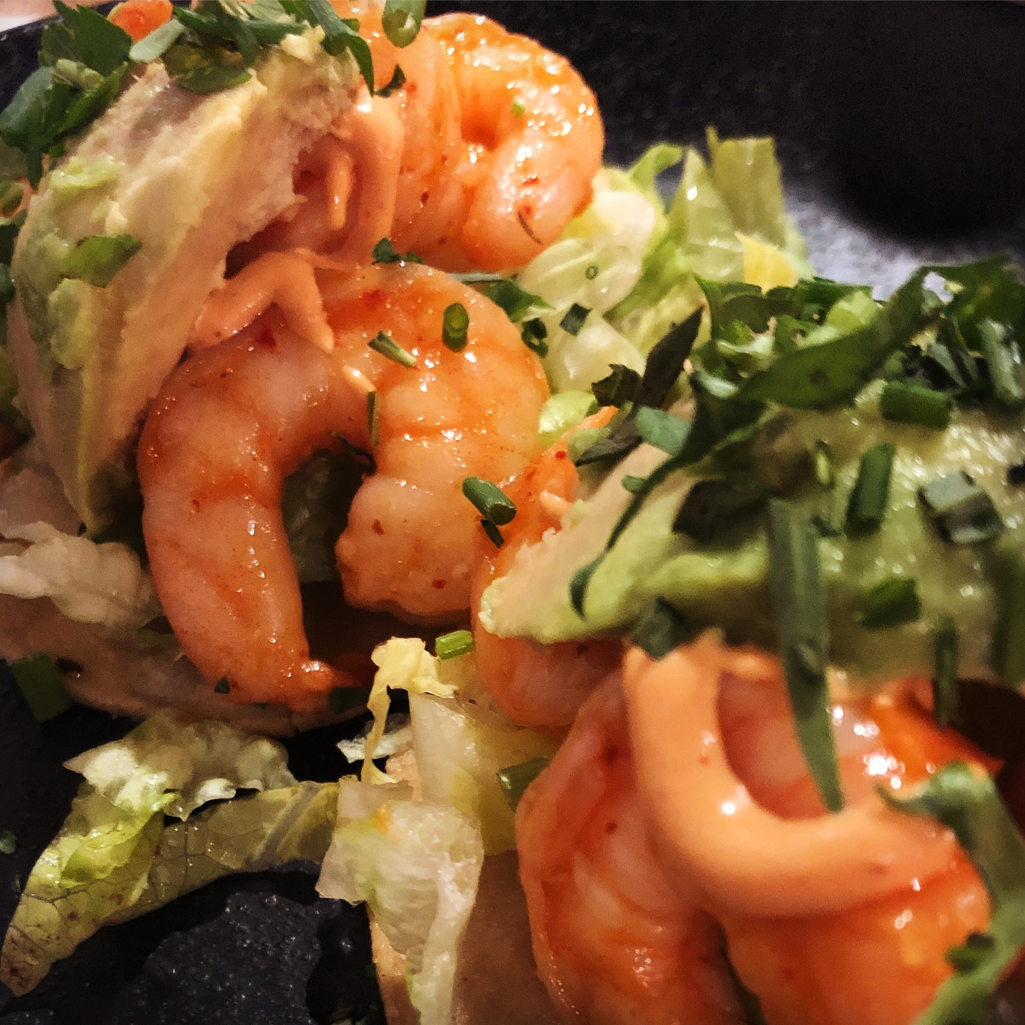 prawn cocktail tostada